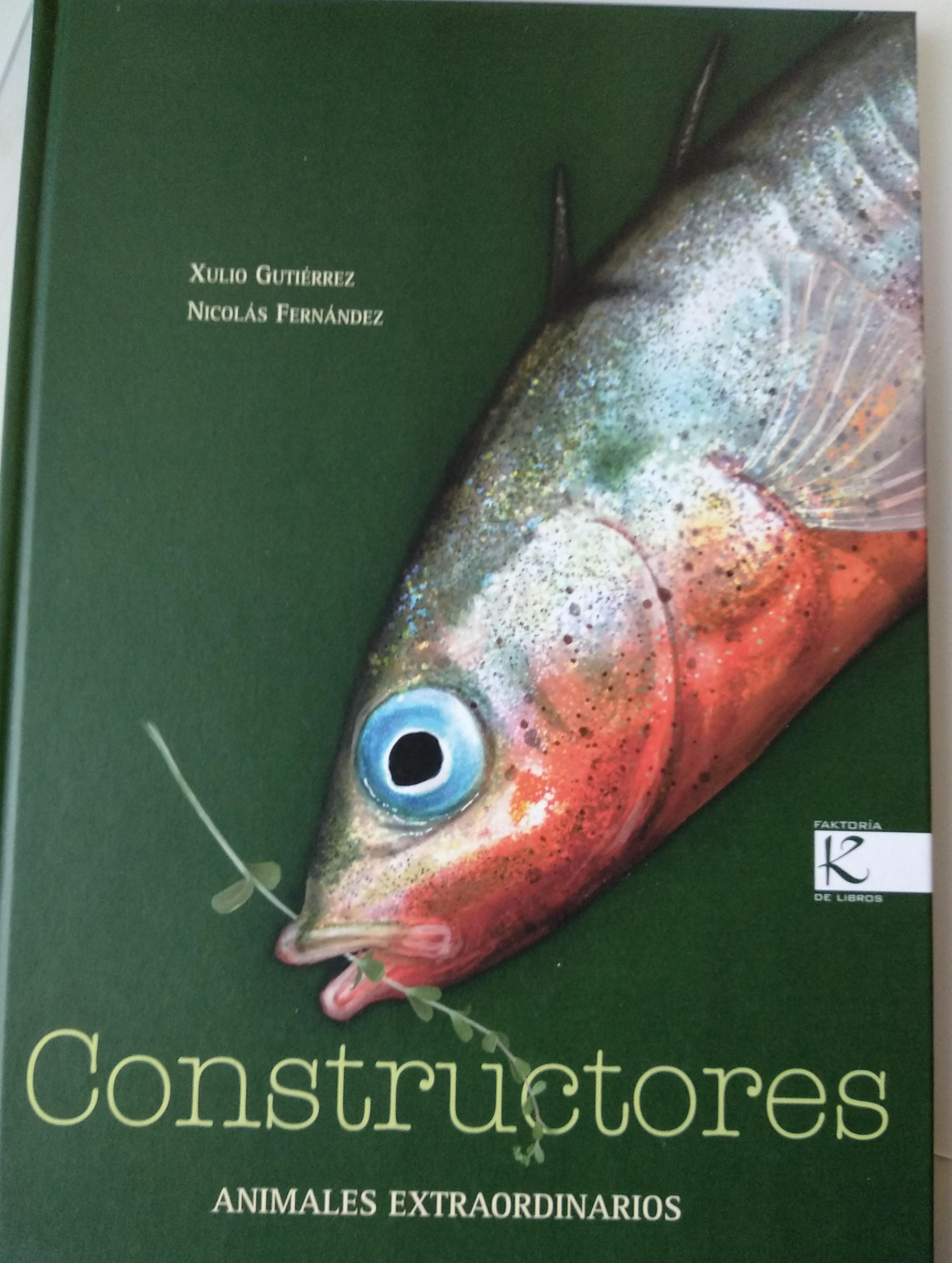 portada del libro Constructores de la editorial Kalandraka