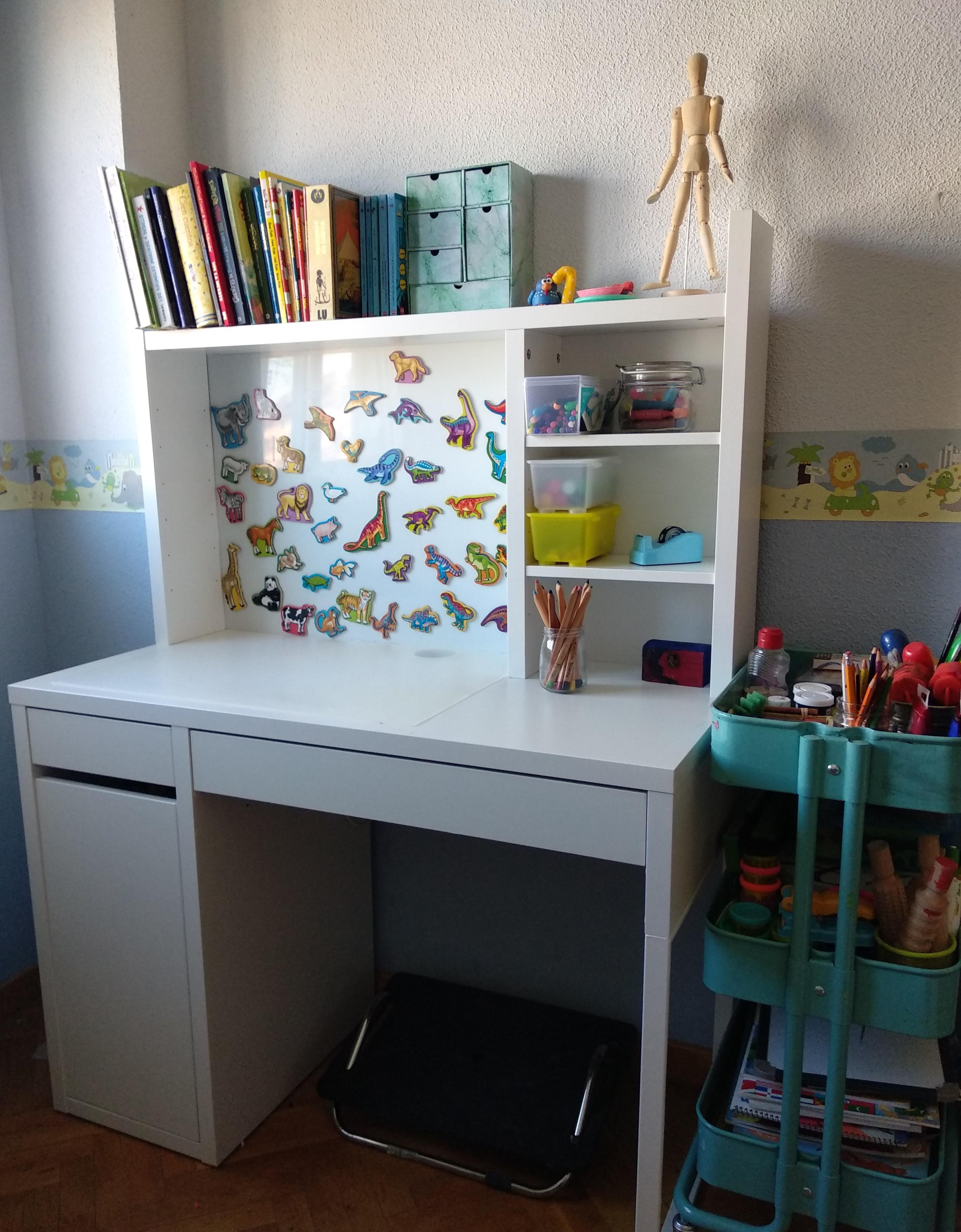 Pronunciar Paciencia gusto  Review del escritorio MICKE de IKEA para habitación juvenil